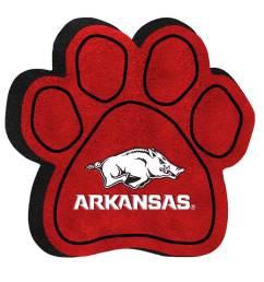 university of arkansas razorbacks paw shaped squeak toy [ 1000 x 1000 Pixel ]