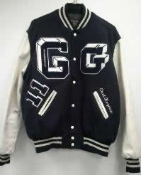 All-Star Embroidery Granville Varsity Jacket Front