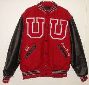 All-Star Embroidery Utica Varsity Jacket Front