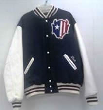 All-Star Embroidery Zanesville Varsity Jacket Front