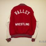 Licking Valley Boy Varsity Jacket Back