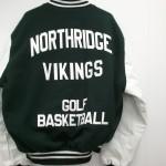 Northridge Varsity Jacket Back