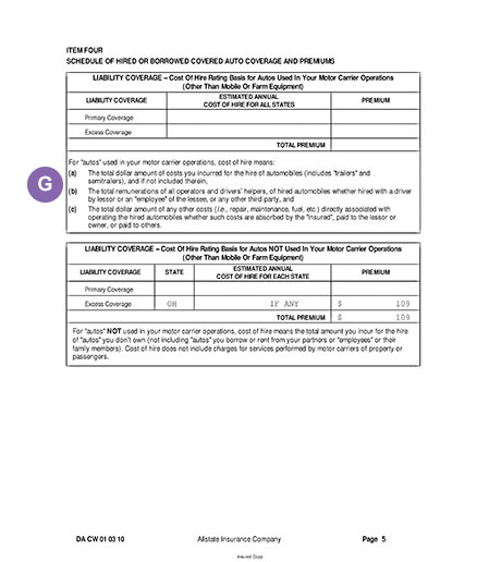 How To Read Business Auto Policy Declarations Allstate