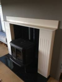 Fireplace ready and looking good - Allstone Solutions ...