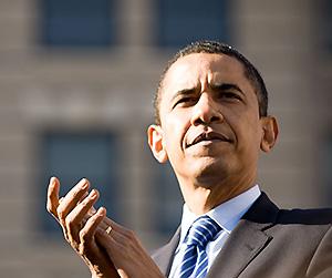 Barack Obama gerade