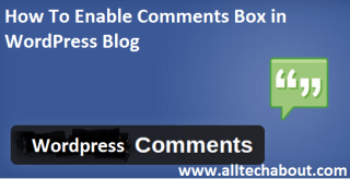 How to Turn Off or Disable Comments in WordPress