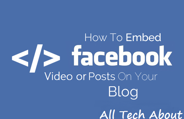 How to Embed a Facebook Posts or Video on Your Website or Blog Post