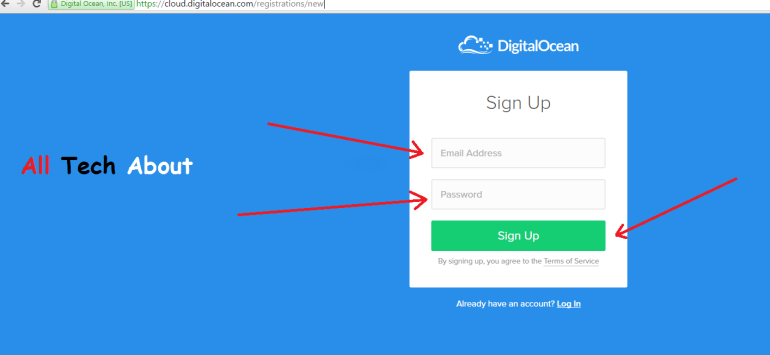 How To Signup For Digitalocean Web Hosting Referral Program