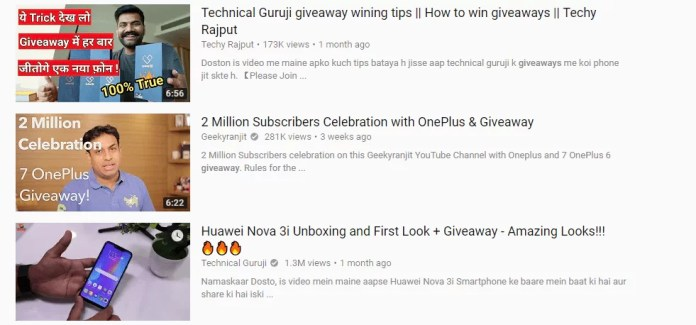 Most effective tactics to gain free youtube subscribers - Free giveaways