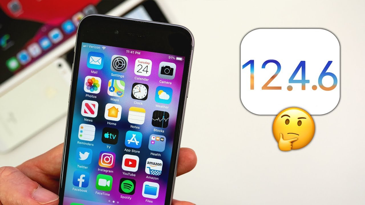 iOS 12.4.6 Released - What's New? - All Tech News