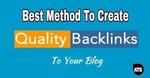 Best Method to Create high Quality Backlinks for a Brand New Site Without Paying Single Penny ( step by step )