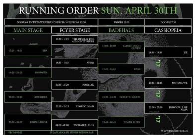 Des Fest 2017 - Day 3 -30-04