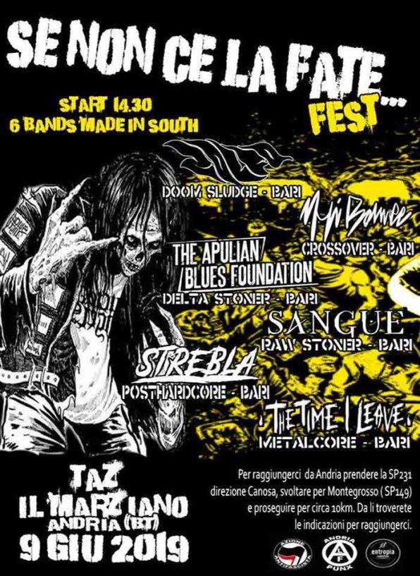 SE NON CE La FATE Fest_flyer Day 02