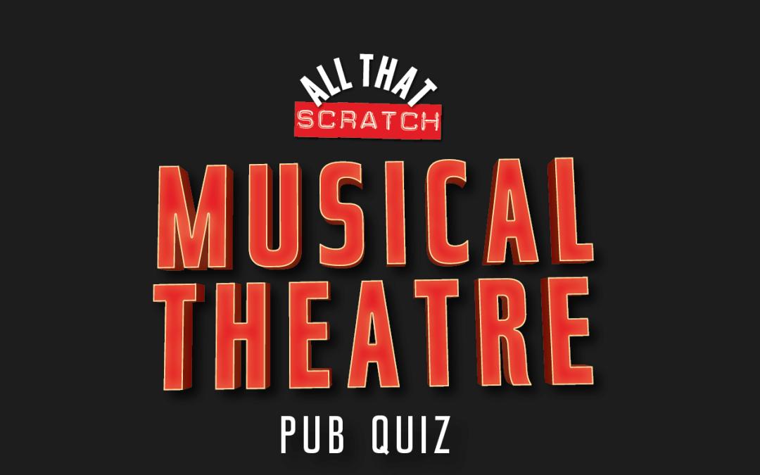 Musical Theatre Pub Quiz Winners Announced