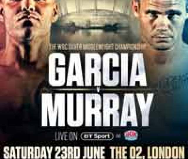 Murray Garcia Fight Poster