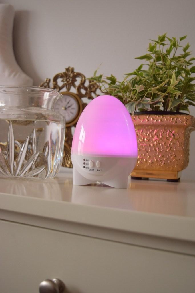 Aroma1-Aromatherapy-Diffuser-Pink-Light