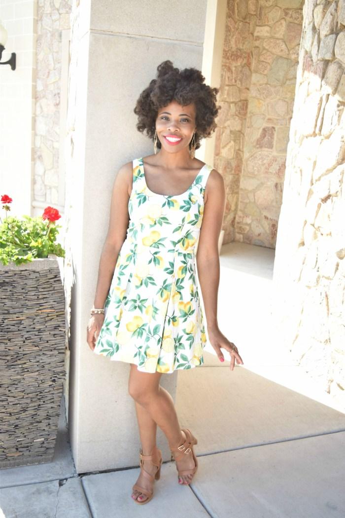 eshakti-customized-lemon-print-dress