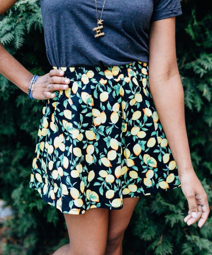 novelstyle-shop-lemonade-stand-lemon-print-skirt