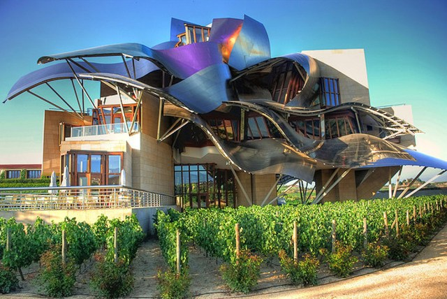 Hotel Marques Des Riscal, Spain