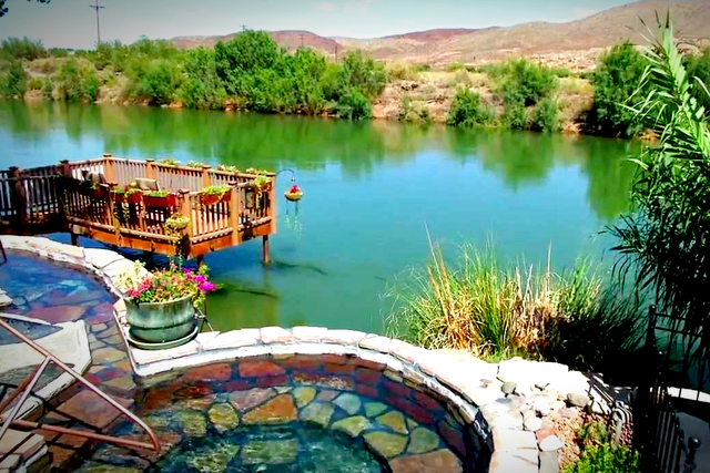 Hot Springs in New Mexico   List and Map of Natural Hot