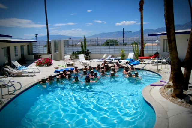 Best gay clothing optional hotels palm springs