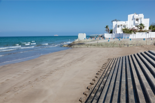 best beaches in oman