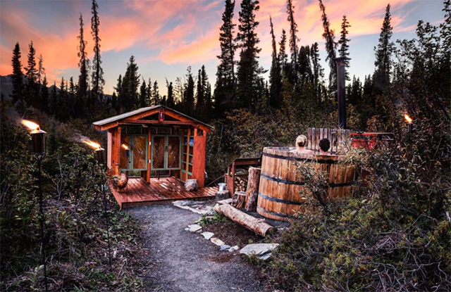 Airbnb Glamping Experiences in Alaska