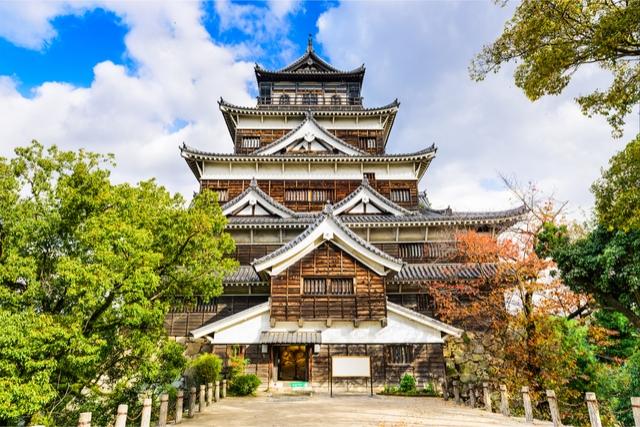 top castles in japan