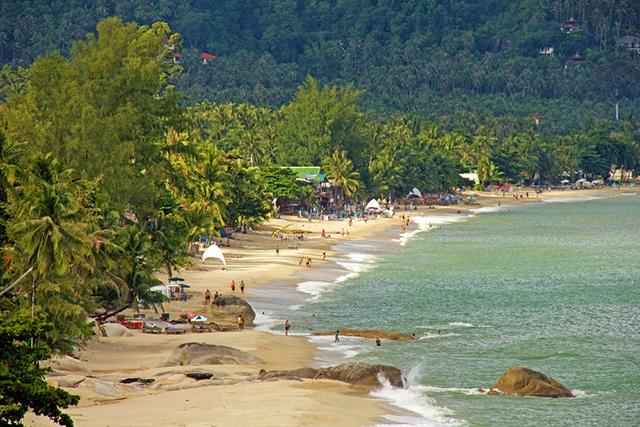 Lamai Beach Thailand