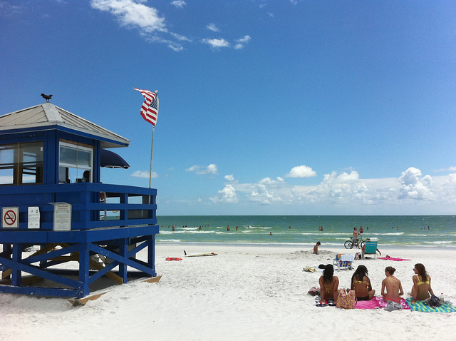 5 beaches in florida