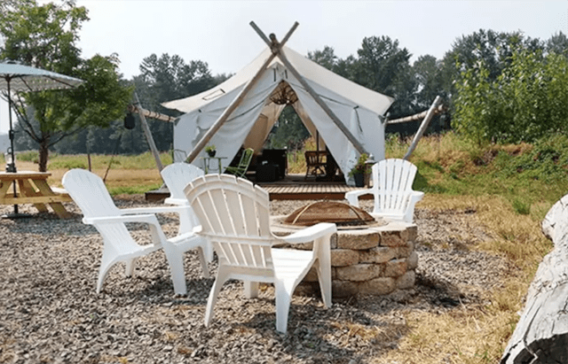 Airbnb Glamping Experiences in Seattle