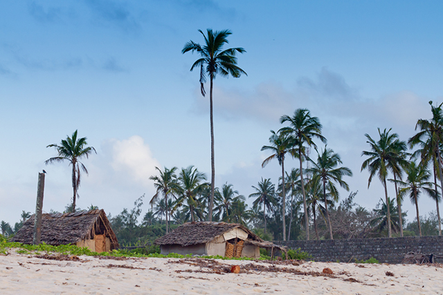 Shanzu Beach in Kenya