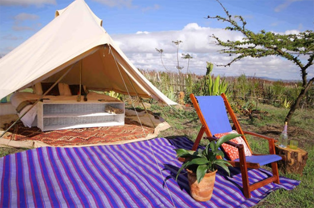 Airbnb Glamping in Kennya