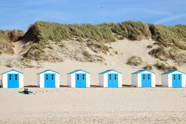 Texel Beach Netherlands