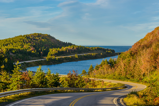 The Cabot Trail Canada