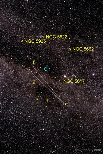 Circinus  Constellations  Digital Images of the Sky