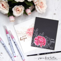 More Spring Flowers by Jessica Frost-Ballas for Simon Says Stamp