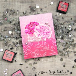 Hey Sunshine by Jessica Frost-Ballas for Simon Says Stamp