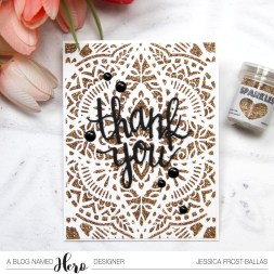 Thank You by Jessica Frost-Ballas for A Blog Named Hero