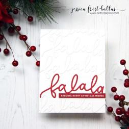 Fa La La by Jessica Frost-Ballas for Simon Says Stamp