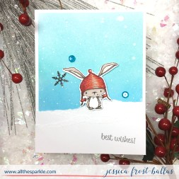 Best Wishes by Jessica Frost-Ballas for Purple Onion Designs