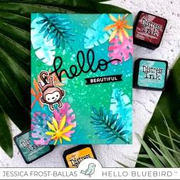 Hello Beautiful by Jessica Frost-Ballas for Hello Bluebird