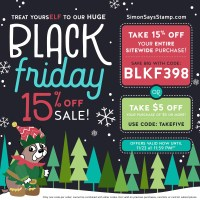 Black Friday Site-Wide Sale at Simon Says Stamp! (+GIVEAWAY!)