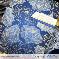 Ink Blending on Colored Cardstock - Rabbit Hole Designs August Release