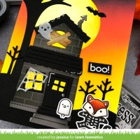 VIDEO: Scene Building with Lawn Fawn - Lawn Fawnatics Challenge #86: Halloween