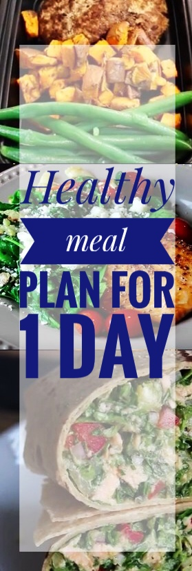 healthy meal plan for 1 day