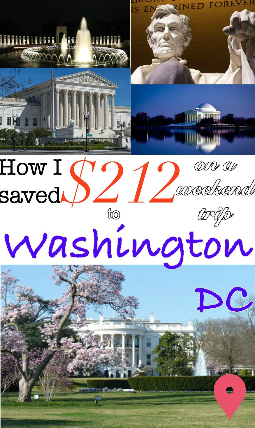 how to save on a trip to washington what to see in Washington travel adventure bucket list