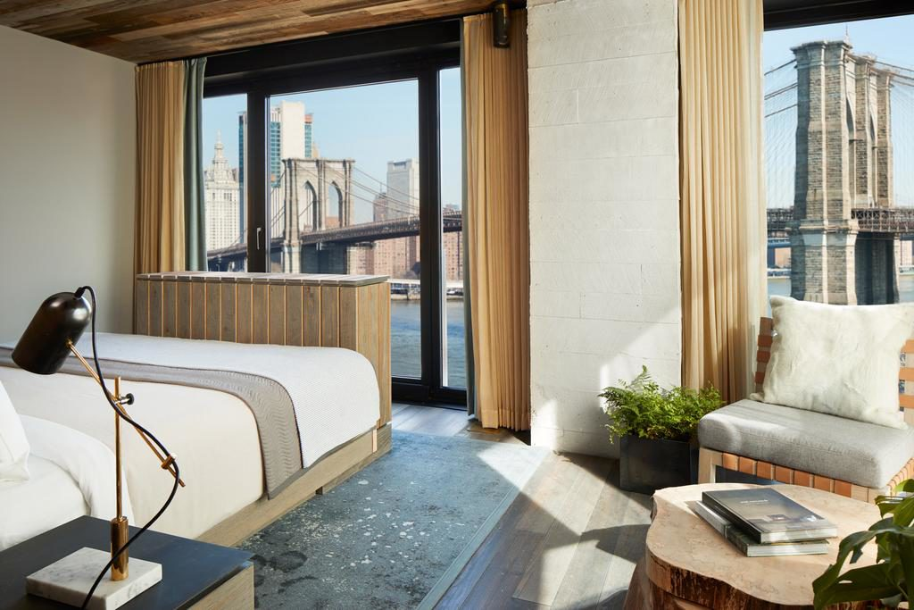 NYC hotel room with a view allthestufficareabout