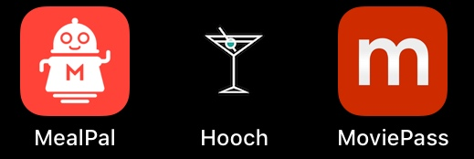 hooch MealPal moviepass