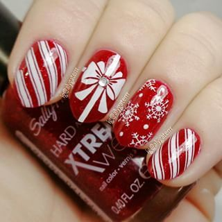 27 Christmas Nail Designs Festive Nail Art Ideas Allthestufficareabout